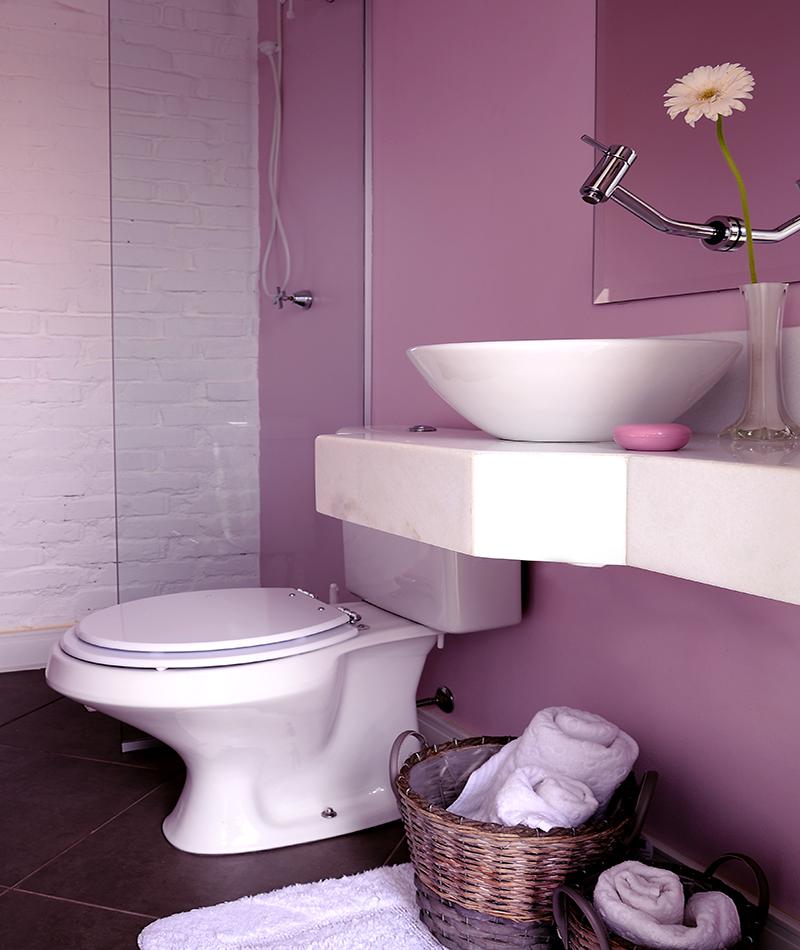 Banheiro área de lazer – Residência Pinheiro Machado – Santiago/RS