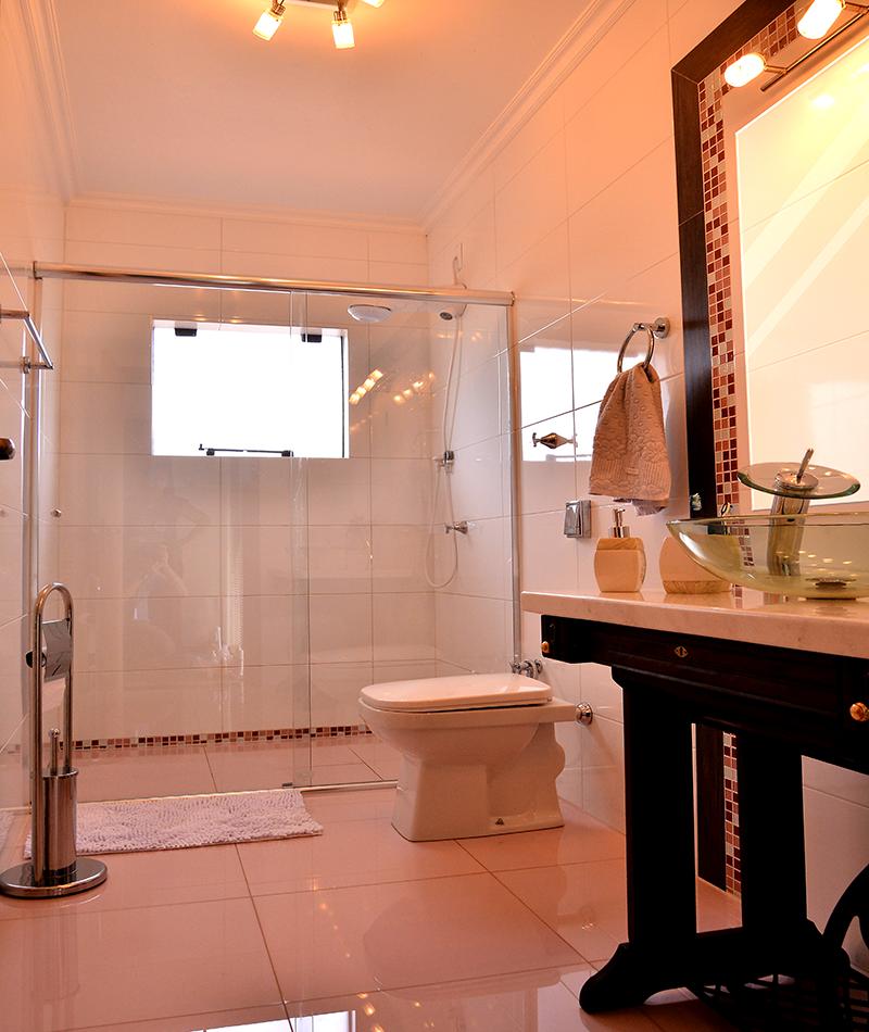 Banheiro social -  Residência General Canabarro - Santiago/RS