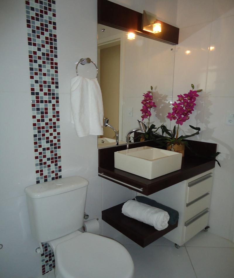 Banheiro social - Reforma residencial Rua João Escobar Carpes - Santiago/RS