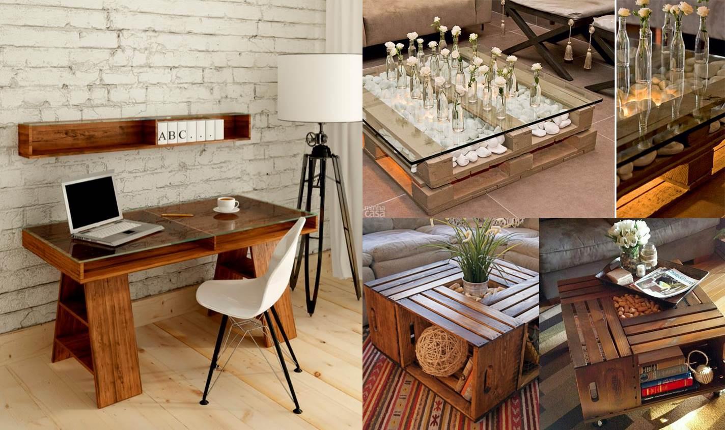 como mesa de centro ou do escritório com um ar mais contemporâneo #B22419 1424x845