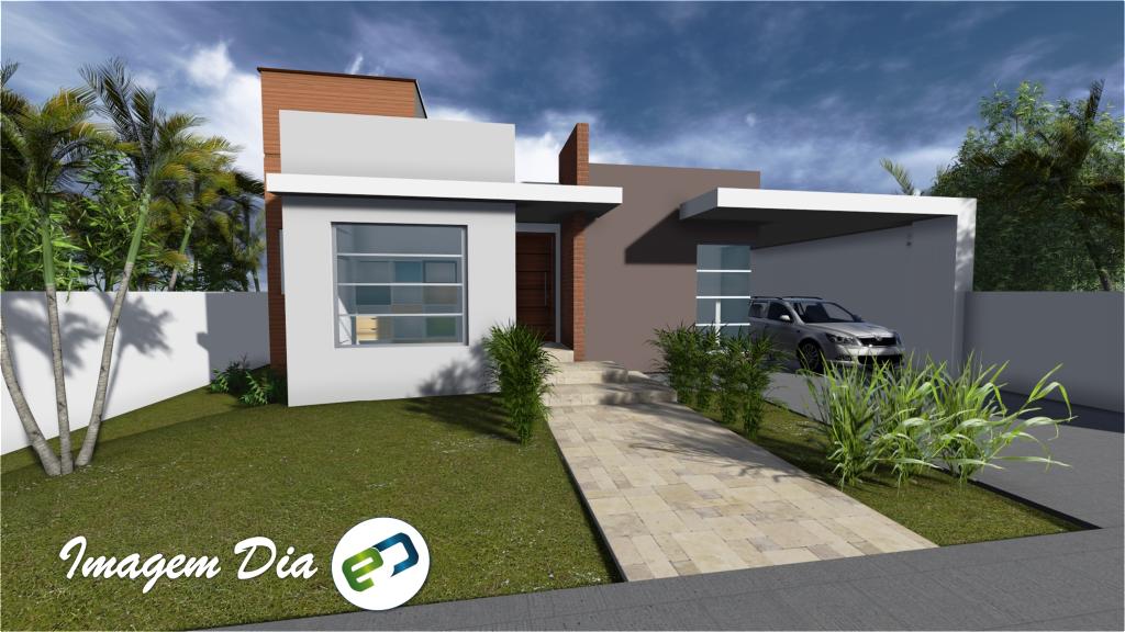 Ello construtora casas pequenas resid ncia rua gr cia for Fachadas contemporaneas para casas