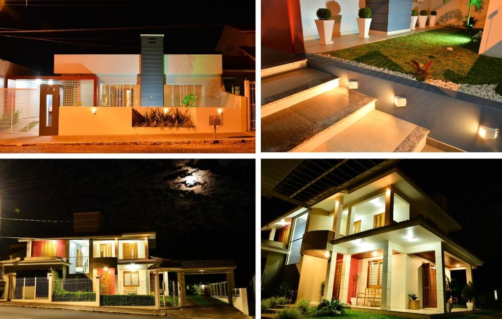 iluminação fachadas