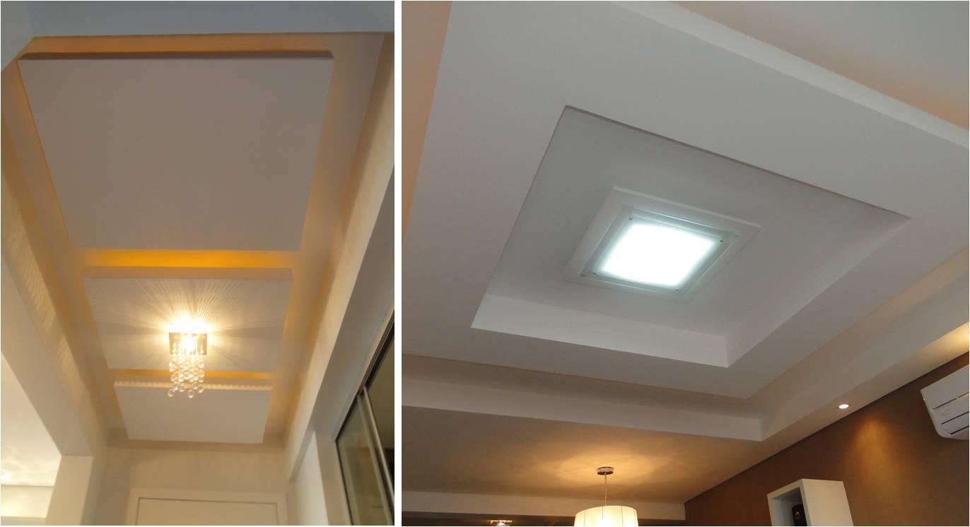 Ello Construtora Ilumina O Efeitos Na Arquitetura -> Luminaria De Gesso Para Sala